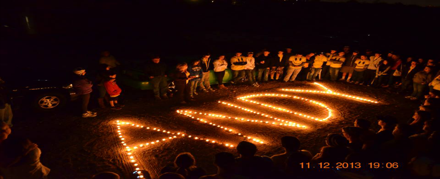 December Bonfire and Candle Light Remembrance