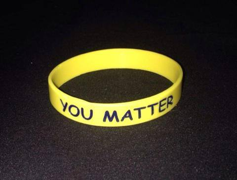 """YOU MATTER!""™ BRACELETS OUT AND ABOUT"