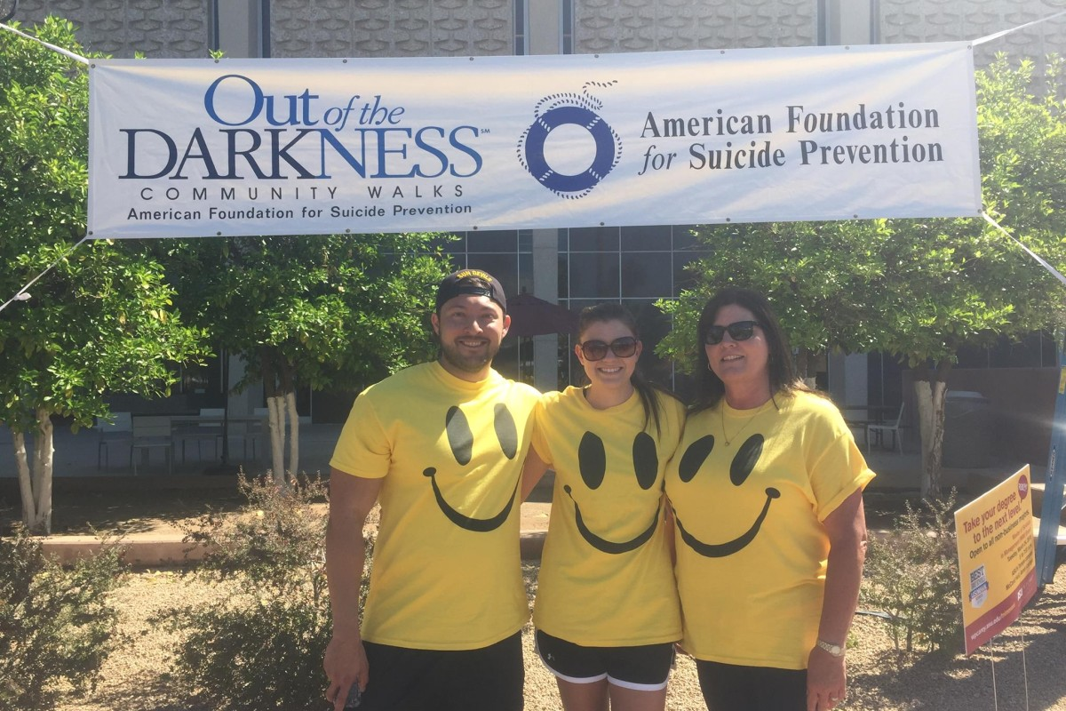 Out Of The Darkness Walk at ASU