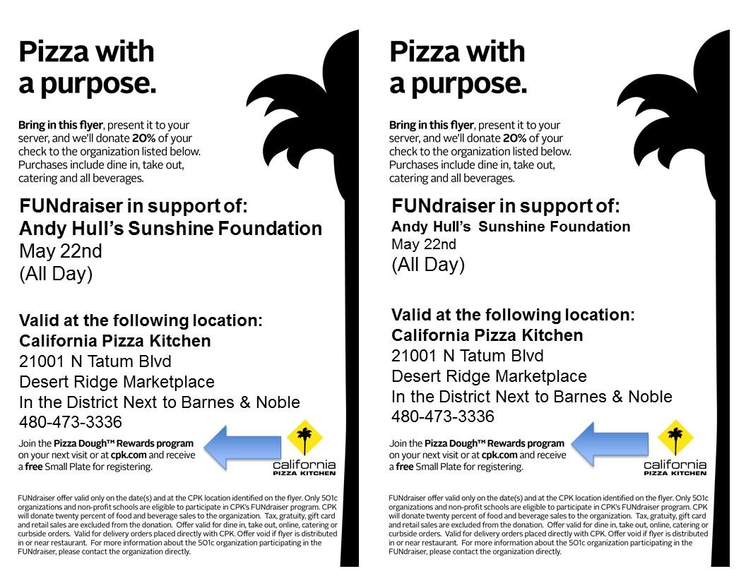 california pizza kitchen fundraiser - zitzat